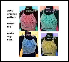 fe56ed07344e Ravelry  2362-Bobble Stitch Halter pattern by Emi Harrington. Make any size  from · Bobble StitchShrug SweaterCrochet ...