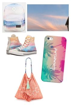 """Summer"" by stylebylexie13 ❤ liked on Polyvore featuring beauty, JanSport, Converse, Casetify and 6 Shore Road"