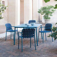 Fauteuils et Table de Repas Yard Emu Jardinchic