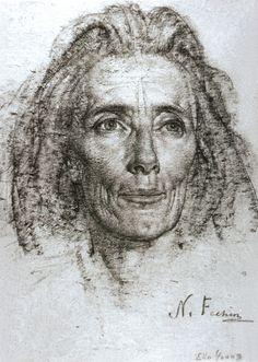 Николай Фешин - портрет Эллы Янг