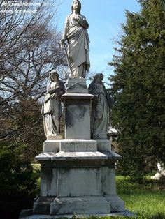 TFS Photo- The A.C. Richards Marker (1/4) at the Spring Grove Cemetery, Cincinnati, Ohio (c) The Funeral Source, photo: Ken Naegele