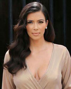 Kim kardashian hairstyle ondas de sirena