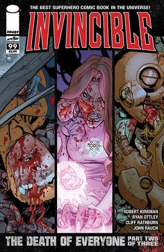 Invincible #99. Cover by Ryan Ottley.