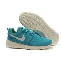 Nike Roshe Run Mesh Lichtgrün Beige Grau Frauen