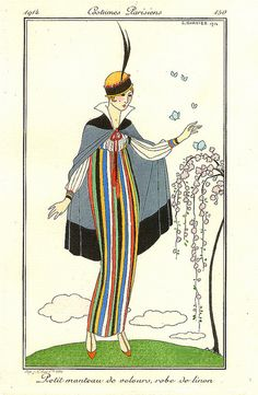 Stripes and Stripes--Georges Barbier