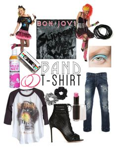"""""""I'm with the band"""" by thetanyaavery ❤ liked on Polyvore featuring art"""