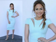 pics of jennifer lopes on american idol 2014 | Radiant Jennifer Lopez In SAFiYAA Dress - Oneindia Boldsky