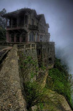 El Hotel del Salto na Colômbia
