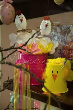 Allestimento vetrina di Pasqua