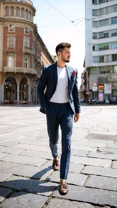 Best Smart Casual Outfits, Mens Casual Dress Outfits, Blazers For Men Casual, Blazer Outfits Men, Formal Men Outfit, Stylish Mens Outfits, Mens Style Looks, Mens Fashion Suits, Mens Clothing Styles