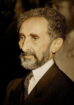 "Emperor Haile Selassie I = H.I.M = RastafariLittle children, it is the last time: and as ye have heard that antichrist shall come, even now are there many antichrists; whereby we know that it is the last time. – 1 John 2:18 Seek redemption, the Saviour has come to redeem his people, the true children of Christ. HEAR,Luke 11:28 BELIEVE, Matthew 9:8 REPENT.Acts 2:38, Matt 4: 37 Confess: His Imperial Majesty, The Living Word, RAS TAFRI Psalms Repent. ""Become Born Again. ""Luke 3:16 Acts 2:38"
