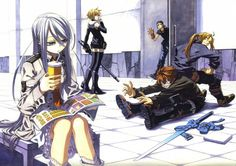 Tags: Anime, Chrome Shelled Regios, Felli, Nina Antalk, Leifon Alseif