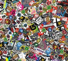skate sticker bomb - Google-haku