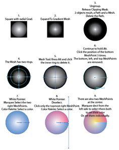 Angle Gradient Effect in Illustrator | Adobe Community