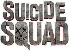 Suicide Squad Movie Logo Sticker Decal luggage car phone laptop bookmark #3069