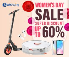 GeekBuying.com - James's iStore Geekbuying - New Deals ! Electric Moped, Ladies Day, Electronics