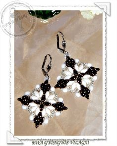 Loretta earrings pattern - 1