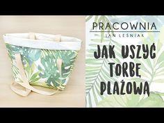 DIY: Jak uszyć torbę plażową z papieru wodoodpornego. Pracownia Jan Leśniak - YouTube