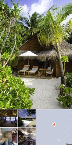Este resort localiza-se numa ilha paradisíaca com um autêntico ambiente de Robinson Crusoe. Mirihi, onde se situa o hotel, é uma ilha muito pequena com apenas 350 m de comprimento e 50 m de largura. Existe um recife de coral espetacular em redor da ilha.