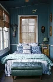 Image result for dark blue and green bedroom