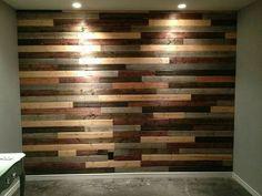 Muro De Madera Pared Pallet Palet - $ 470.00 en Mercado Libre