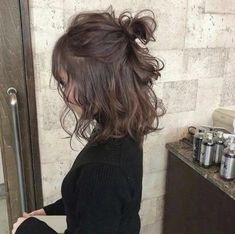 Kid hairstyles 794955771712583342 - – short wavy hair – Source by Hair Day, New Hair, Hair Inspo, Hair Inspiration, Hair Streaks, Pretty Hairstyles, Short Wavy Hairstyles, Braided Hairstyles, Wedding Hairstyles