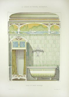 DeSaint Peintre Decorateur 1890