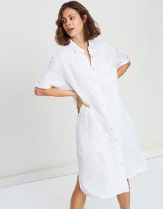 The White Album, Resort Dresses, Box Pleats, Vertical Stripes, Staple Pieces, Dresses For Sale, Hemline, Latest Trends, Label