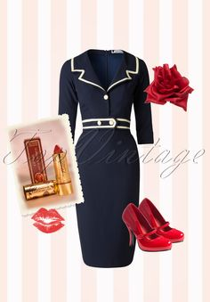 If you've always dreamt to be a sailor girl then don't hesitate to order this gorgeous look
