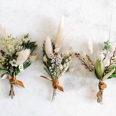 : Neutral and structured boutonniere, one of our most popular floral details . - Neutral and structured boutonniere, one of our most popular floral details! – wedding with pampas - Fall Wedding Flowers, Fall Flowers, Dried Flowers, Floral Wedding, Wedding Bouquets, Wedding Greenery, Fall Wedding Boutonniere, Groomsmen Boutonniere, Boho Flowers