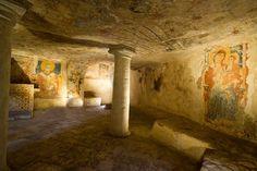 Lecce, cripta del crocefisso