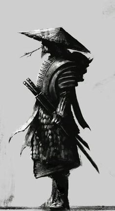 Woman to Paradise Samurai - Tattoo Ideas - . , Woman to paradise samurai - tattoo ideas - Samurai Warrior Tattoo, Warrior Tattoos, Samurai Back Tattoo, Fantasy Kunst, Fantasy Art, Samurai Artwork, Samurai Drawing, Japanese Tattoo Samurai, Ronin Samurai