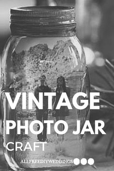 The vintage look is the best wedding accessory.