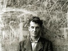 """Ludwig Wittgenstein, Swansea 1947, by Ben Richards """"Philosophy is a batlle against the bewitchment of our intelligence by means of language"""""""