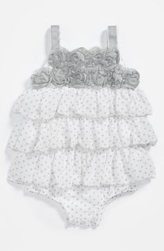 Pippa & Julie Chiffon Bodysuit (Baby Girls) available at #Nordstrom