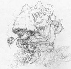 Художник-иллюстратор Jean-Baptiste Monge - Ярмарка Мастеров - ручная работа, handmade