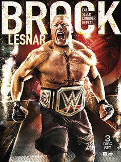 Wwe: Brock Lesnar - Eat, Sleep, Conquer, Repeat (dvd), Y Brock Lesnar Wwe, Wwe Brock, Le Catch, Watch Wrestling, Wrestling Wwe, Sport Motivation, Fitness Motivation, Prem Baba, Lucha Libre
