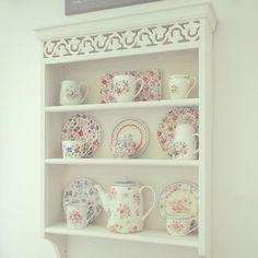 Set of 4 Cranham Dinner Plates | Cooking and Dining | CathKidston  sc 1 st  Pinterest & Cath Kidston AW15 - Cranham China Range | Decorating | Pinterest ...