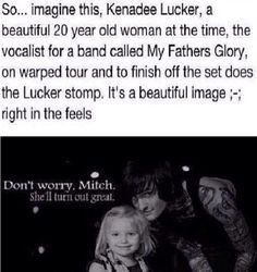 Kenadee & Mitch Lucker :') I think this killed me... I died from how much I want this to happen