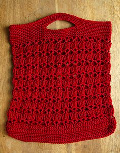 Ravelry: Provence Summer String Bag pattern by Kathy North Crochet Market Bag, Crochet Tote, Crochet Handbags, Crochet Purses, Bead Crochet, Crochet Gifts, Crochet Stitch, Free Crochet, Classic Elite Yarns