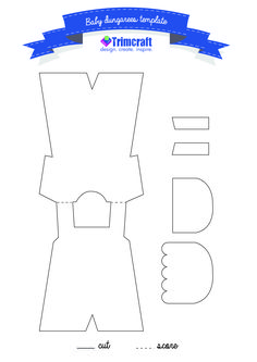 It's A Boy Baby Dungaree Card Tutorial with Free Craft Template http://www.trimcraft.co.uk/articles/it-s-a-boy-baby-dungaree-card-tutorial-with-free-craft-template