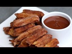 Easy Baked Churros