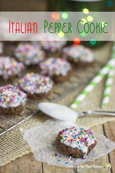 Italian Pepper Cookies | Cooking on the Front Burner #italiancookies #peppercookies
