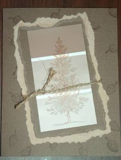 Paint Chip Tree by shouldstampmore - Cards and Paper Crafts at Splitcoaststampers