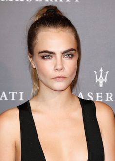Brown is the New Black: Cara Delevingne's Espresso Cat Eye for more fashion and beauty advise check out The London Lifestylist http://www.thelondonlifestylist.com