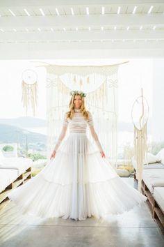 37 Trendy Wedding Guest Boho Outfit The Bride Groom Outfit, Groom Attire, Boho Bride, Boho Wedding, Trendy Wedding, Wedding Trends, Wedding Styles, Wedding Ideas, Greek Wedding Dresses