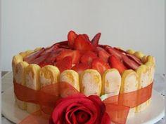 Ricetta Torta al cioccolato bianco con fragole