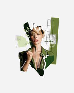 Graphic Design Layouts, Graphic Design Inspiration, Collage Magazine, Collage Artwork, Collage Design, Fashion Collage, Fashion Design Sketches, Coreldraw, Digital Collage