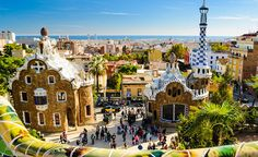 Do you want to visit the Land of Oz?  The Güell Park is one of the settings of #EmeraldCity. Visit it this summer! #NomadSpain #NomadSpirit #Wanderlust