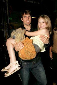 Dakota Fanning and Tom Cruise 2005